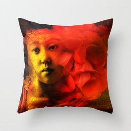 Even in Dreams Throw Pillow