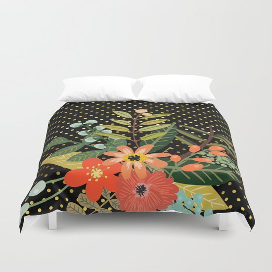 Flowers Bouquet #9 Duvet Cover