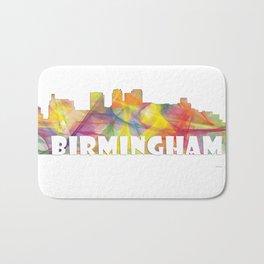 Birmingham, Alabama Skyline MCLR 2 Bath Mat