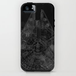 Millenium Falcon iPhone Case