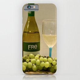 White Wine Still Life iPhone Case