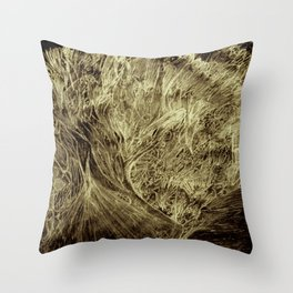 The Book Of; A.L.L.; Judgement.; In the mouth of a snake. Throw Pillow
