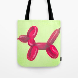 Solo Rojo Red Balloon Animal Tote Bag