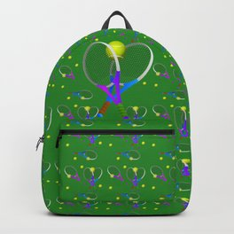 Tennis Rackets and Ball Backpack