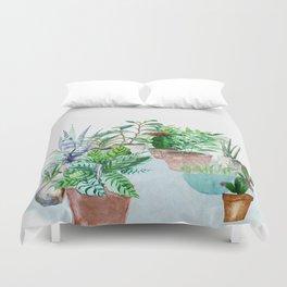 Plants 2 Duvet Cover