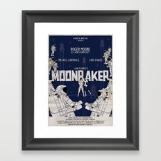 MOONRAKER Framed Art Print