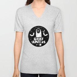 The Singular Fortean Society Ghost Hunters Unisex V-Neck