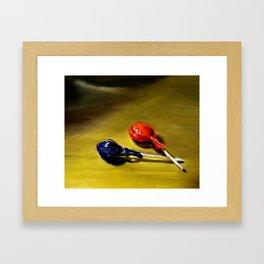 Lolipops Framed Art Print