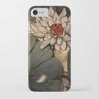 lotus iPhone & iPod Cases featuring Lotus by Corinne Reid