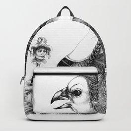 Tête-à-tête with Botticelli Backpack