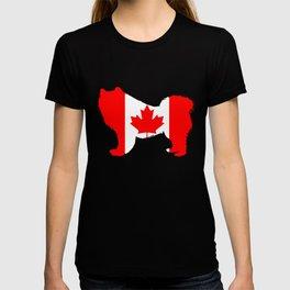 """Samoyed """"Canada"""" T-shirt"""