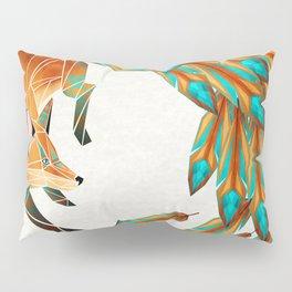 fox circle Pillow Sham