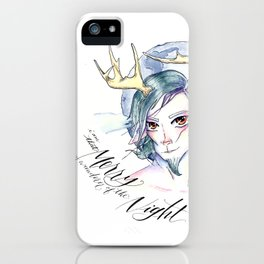 A Midsummer Night's Dream- Puck the Merry Wanderer of the Night iPhone Case