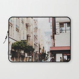 SF Side Streets Laptop Sleeve