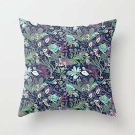 Below sealevel Throw Pillow