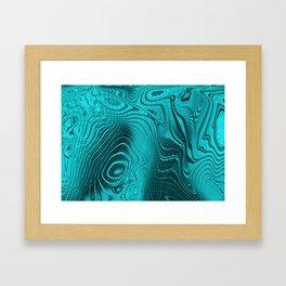 Whirlpool Waters Framed Art Print