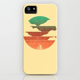 Go West (cycling edition) iPhone Case