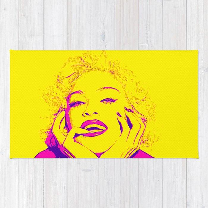 Bright Madonna Rug