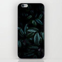 Dark Leaves 6 iPhone Skin