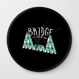 Bridge Love Wall Clock