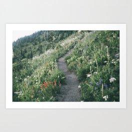 Happy Trails XIII Art Print