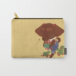 Strawberry Picker Carry-All Pouch