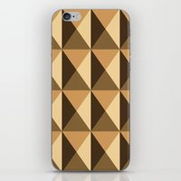 copper iPhone & iPod Skins featuring Copper by Fernanda Fattu