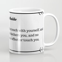 unfuckwithable Coffee Mug