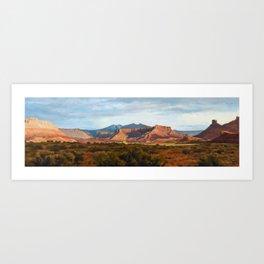 Moab Summer Evening Art Print