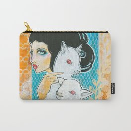Two and a Lamb Carry-All Pouch