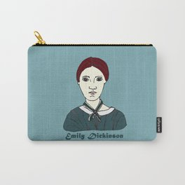 Emily Dickinson, hand-drawn portrait Carry-All Pouch