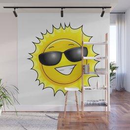 sunglasses on Wall Mural