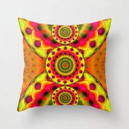 Psychedelic Visions G144 Throw Pillow