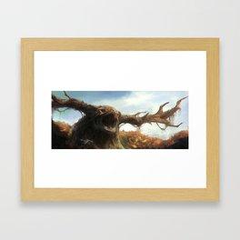 Behemoth, The Autumn Bringer Framed Art Print