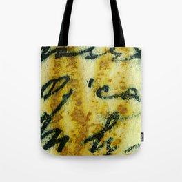 Eco Writing A Tote Bag