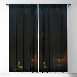 Arnold Böcklin - Isle of the Dead Blackout Curtain
