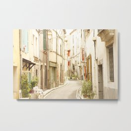 French Old Town Metal Print