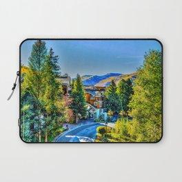 Vail Colorado Photo Laptop Sleeve
