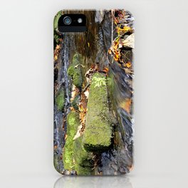 Lumsdale stream iPhone Case