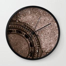 Street Design Wall Clock