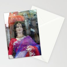 Reflections in a Sari Shop Window, Paris Stationery Cards