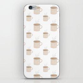 Tea and Coffee Cups iPhone Skin