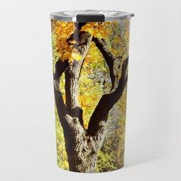 Yellow foliage Travel Mug