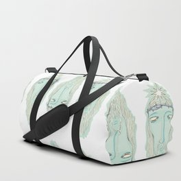 head of Jesus Duffle Bag