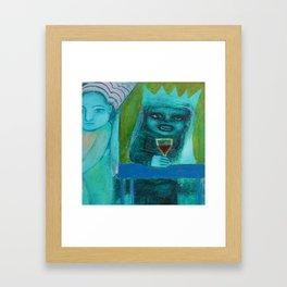 Mer Vin! Framed Art Print