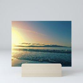Oban | Musical Crime Productions | Scottish Seascape | Sunset Mini Art Print