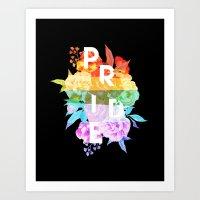 Floral Pride Art Print