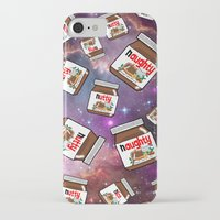 nutella iPhone & iPod Cases featuring NUTELLA NEBULA by SteffiMetal