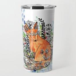Tatoo fox Travel Mug