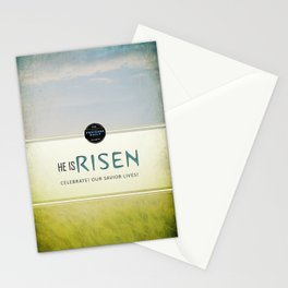 He is Risen Stationery Cards